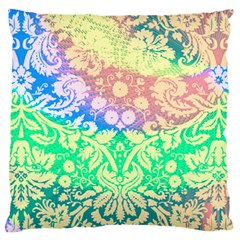Hippie Fabric Background Tie Dye Large Cushion Case (one Side) by Mariart