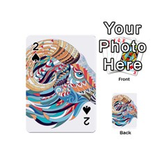Goat Sheep Ethnic Playing Cards 54 (mini)