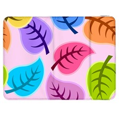 Leaves Background Beautiful Samsung Galaxy Tab 7  P1000 Flip Case