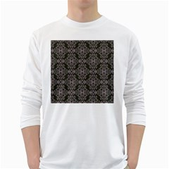 Line Geometry Long Sleeve T-shirt by Mariart