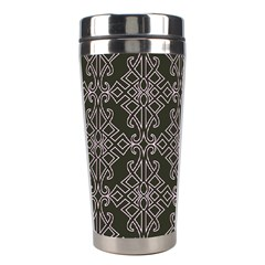 Line Geometry Stainless Steel Travel Tumblers