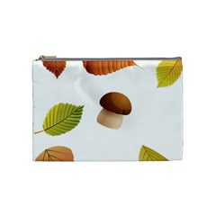 Leaves Mushrooms Cosmetic Bag (medium)