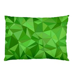 Mosaic Tile Geometrical Abstract Pillow Case (two Sides) by Mariart