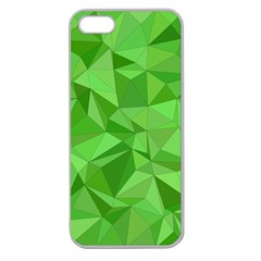 Mosaic Tile Geometrical Abstract Apple Seamless Iphone 5 Case (clear) by Mariart
