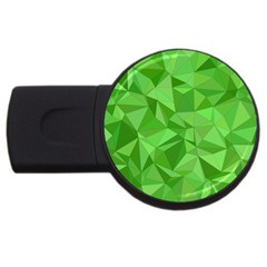 Mosaic Tile Geometrical Abstract Usb Flash Drive Round (4 Gb)
