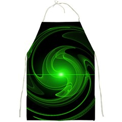 Lines Rays Background Light Full Print Aprons