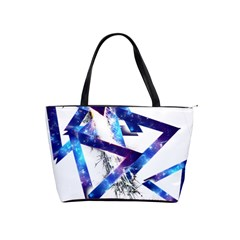 Metal Triangle Classic Shoulder Handbag by Mariart