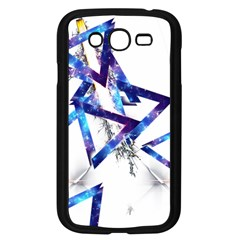 Metal Triangle Samsung Galaxy Grand Duos I9082 Case (black)