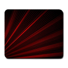 Line Geometric Red Object Tinker Large Mousepads