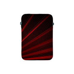 Line Geometric Red Object Tinker Apple Ipad Mini Protective Soft Cases