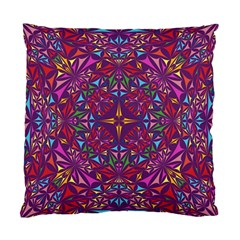 Kaleidoscope Triangle Pattern Standard Cushion Case (two Sides)