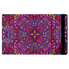 Kaleidoscope Triangle Pattern Apple Ipad 3/4 Flip Case