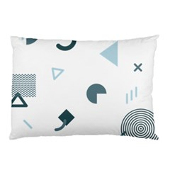 Shape Vector Triangle Pillow Case (two Sides) by Mariart