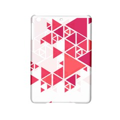 Red Triangle Pattern Ipad Mini 2 Hardshell Cases