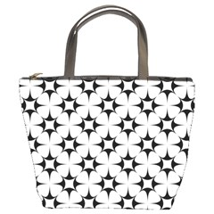 Star Background Bucket Bag