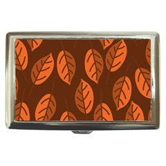Pattern Leaf Plant Cigarette Money Case by Mariart