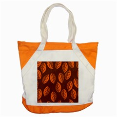 Pattern Leaf Plant Accent Tote Bag by Mariart