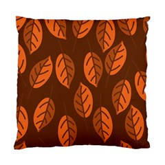 Pattern Leaf Plant Standard Cushion Case (two Sides)