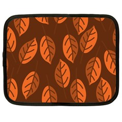 Pattern Leaf Plant Netbook Case (xl)