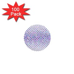 Star Curved Background Geometric 1  Mini Buttons (100 Pack)  by Mariart