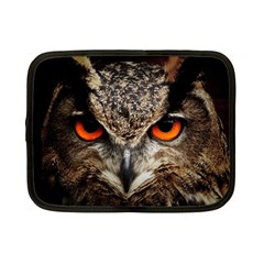 Owl s Scowl Netbook Case (small) by WensdaiAddamns