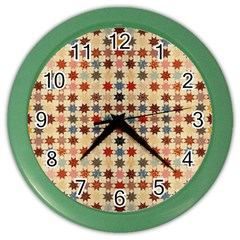 Ml 4 2 Color Wall Clock by ArtworkByPatrick