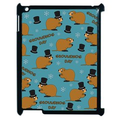 Groundhog Day Pattern Apple Ipad 2 Case (black)