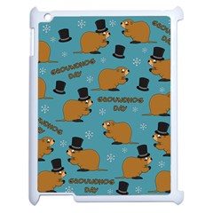 Groundhog Day Pattern Apple Ipad 2 Case (white)