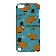 Groundhog Day Pattern Apple Ipod Touch 5 Hardshell Case