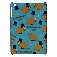 Groundhog Day Pattern Apple Ipad Mini Hardshell Case