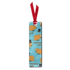 Groundhog Day Pattern Small Book Marks