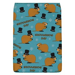 Groundhog Day Pattern Removable Flap Cover (l)