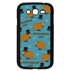 Groundhog Day Pattern Samsung Galaxy Grand Duos I9082 Case (black)