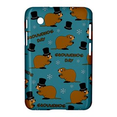Groundhog Day Pattern Samsung Galaxy Tab 2 (7 ) P3100 Hardshell Case
