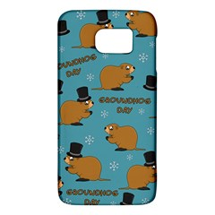 Groundhog Day Pattern Samsung Galaxy S6 Hardshell Case