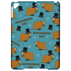 Groundhog Day Pattern Apple Ipad Pro 9 7   Hardshell Case