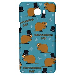 Groundhog Day Pattern Samsung C9 Pro Hardshell Case