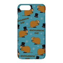 Groundhog Day Pattern Apple Iphone 8 Plus Hardshell Case
