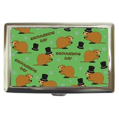 Groundhog Day Pattern Cigarette Money Case