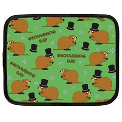 Groundhog Day Pattern Netbook Case (xl)