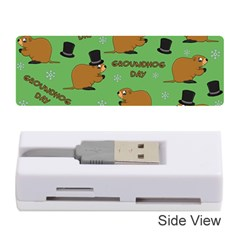 Groundhog Day Pattern Memory Card Reader (stick)