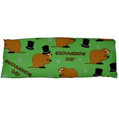 Groundhog Day Pattern Body Pillow Case (dakimakura)