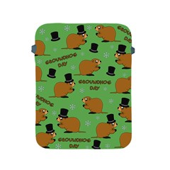 Groundhog Day Pattern Apple Ipad 2/3/4 Protective Soft Cases