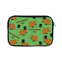 Groundhog Day Pattern Apple Ipad Mini Zipper Cases