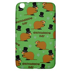 Groundhog Day Pattern Samsung Galaxy Tab 3 (8 ) T3100 Hardshell Case
