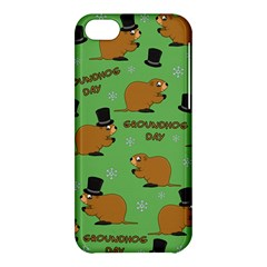 Groundhog Day Pattern Apple Iphone 5c Hardshell Case