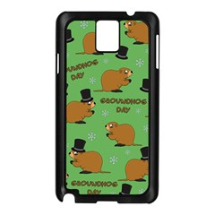 Groundhog Day Pattern Samsung Galaxy Note 3 N9005 Case (black)