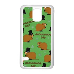 Groundhog Day Pattern Samsung Galaxy S5 Case (white)