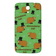 Groundhog Day Pattern Samsung Galaxy Mega I9200 Hardshell Back Case
