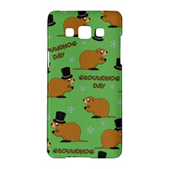 Groundhog Day Pattern Samsung Galaxy A5 Hardshell Case